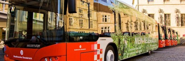 Stadt Osnabrück Mobil Mit Dem Bus